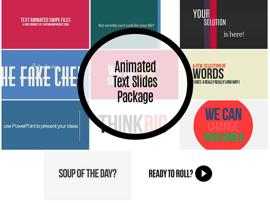 Animated Text Slides 1