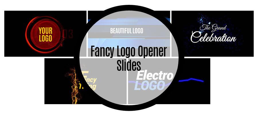 Fancy Logo Opener Slides