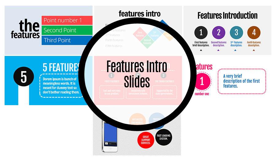 Features Introduction Slides