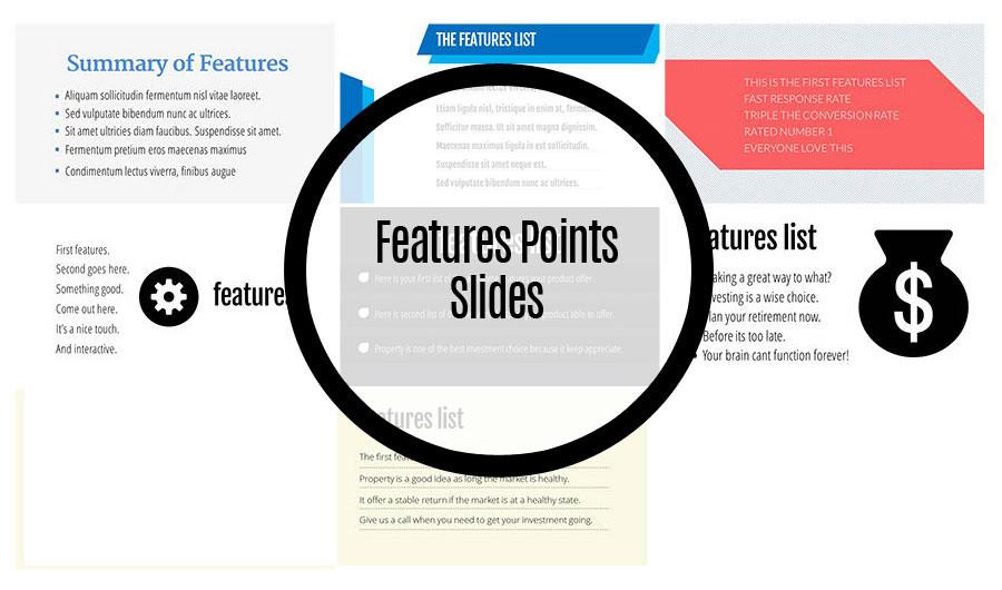 Features Points Slides