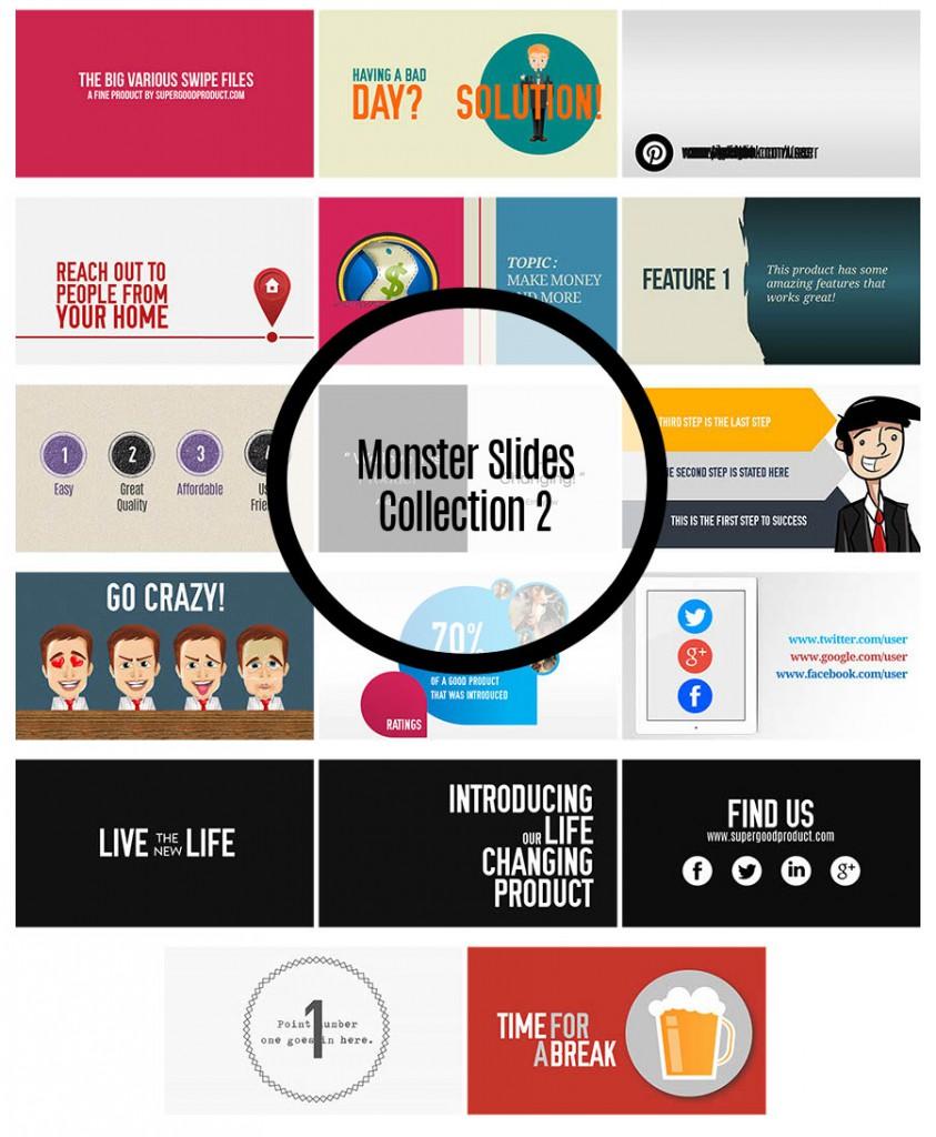 Monster Slides Collection 2