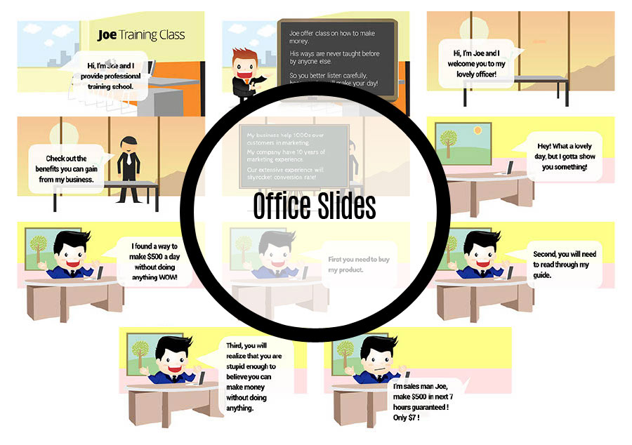 Office Theme Slides