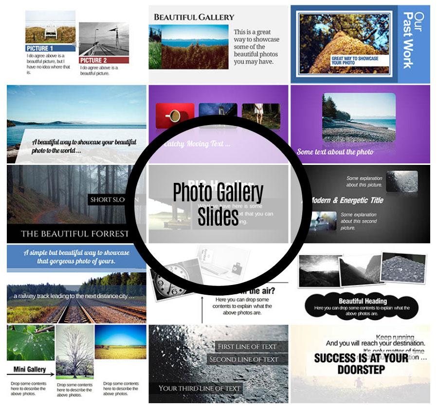 Photo Gallery Slides