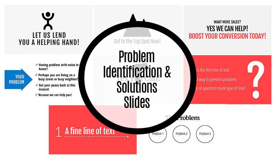 Problem Identification & Solution Slides
