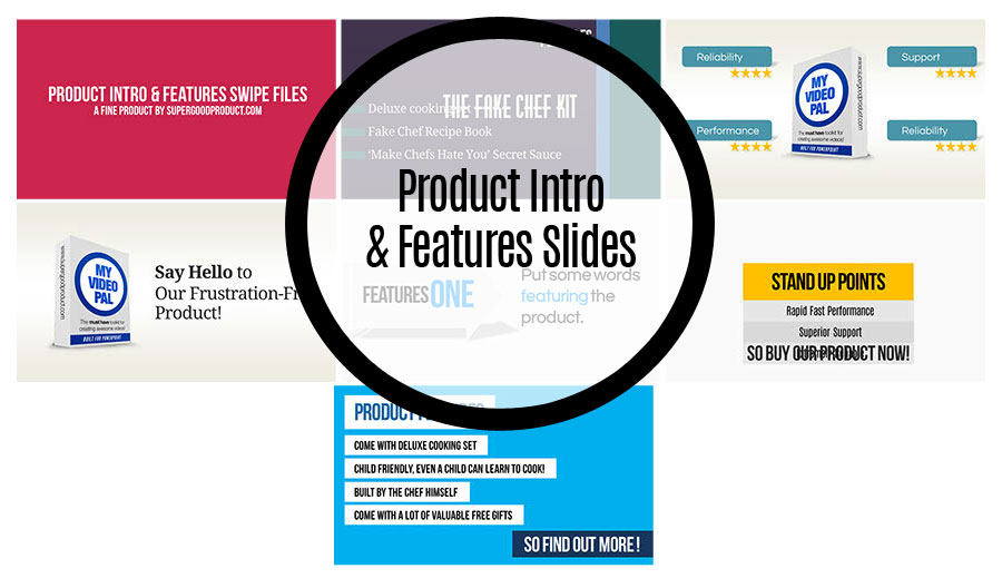 Product Intro & Features Slides