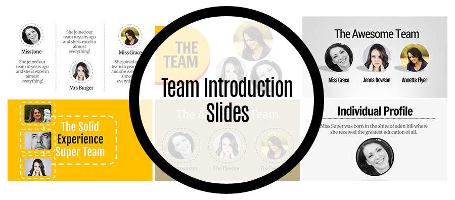 Team Introduction Slides