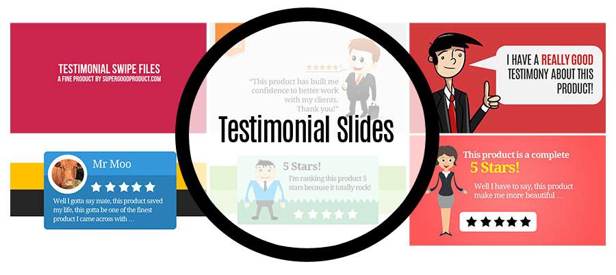 Testimonial Slides
