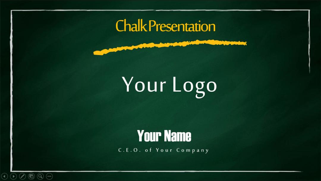 Chalky Presentation