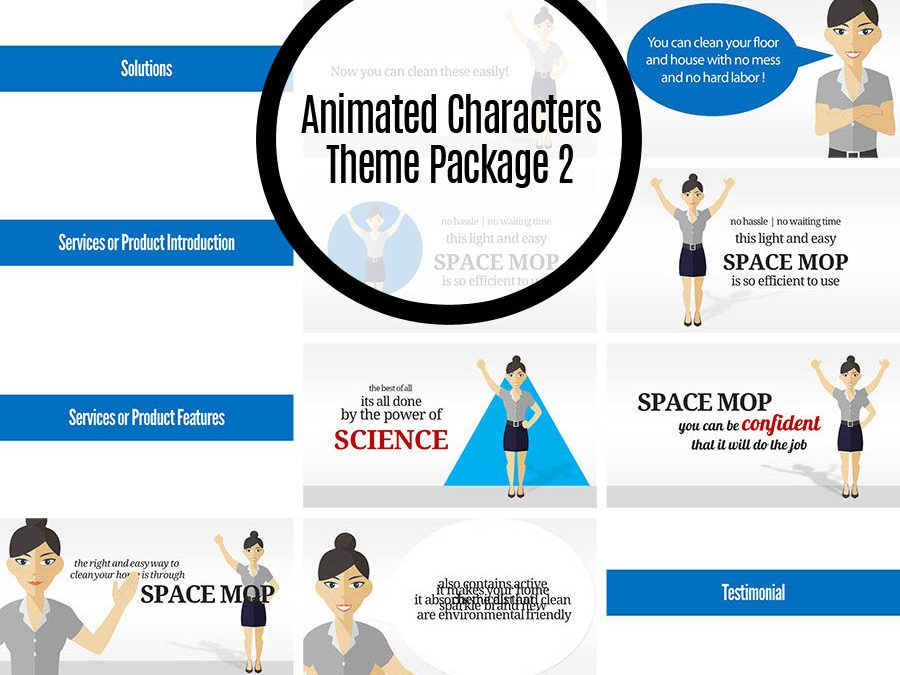 Animated Characters Theme Package 2