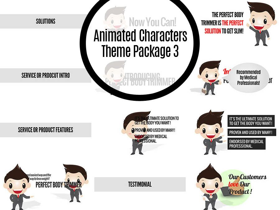 Animated Characters Theme Package 3