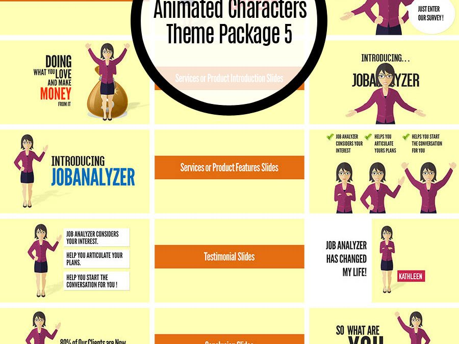 Animated Characters Theme Package 5