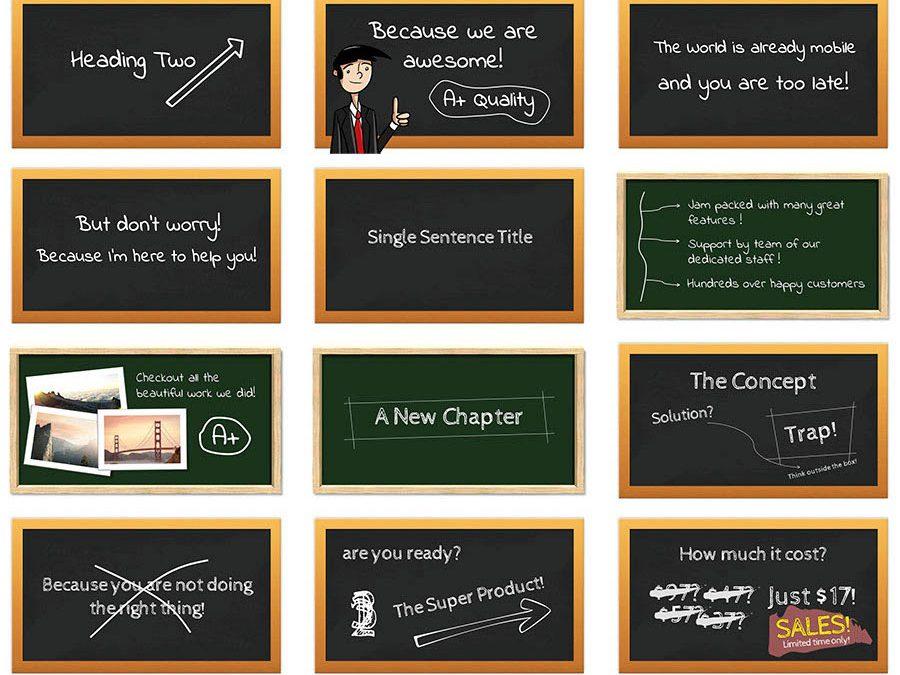 Blackboard Style Package 1