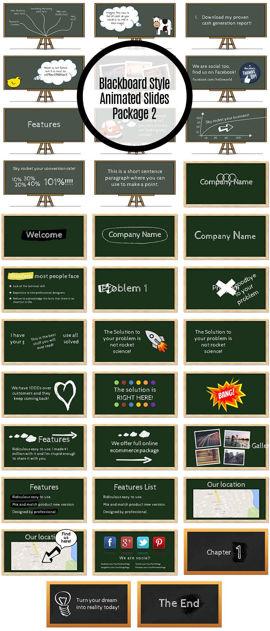 Blackboard Style Package 2