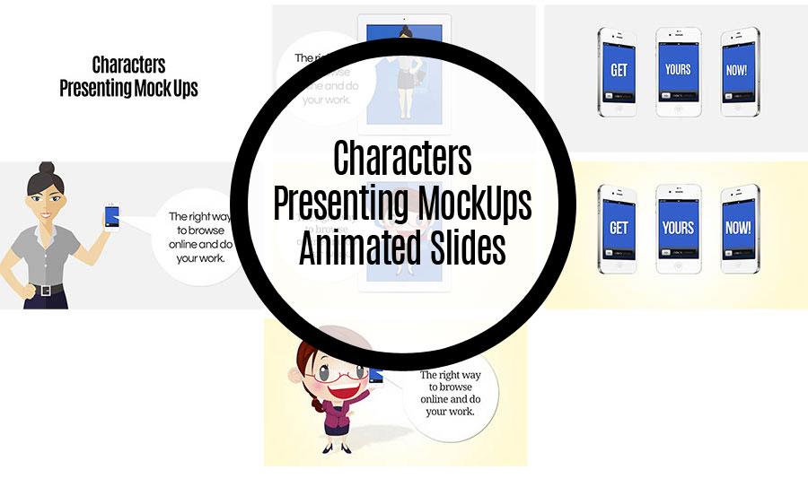 Character Presenting MockUps