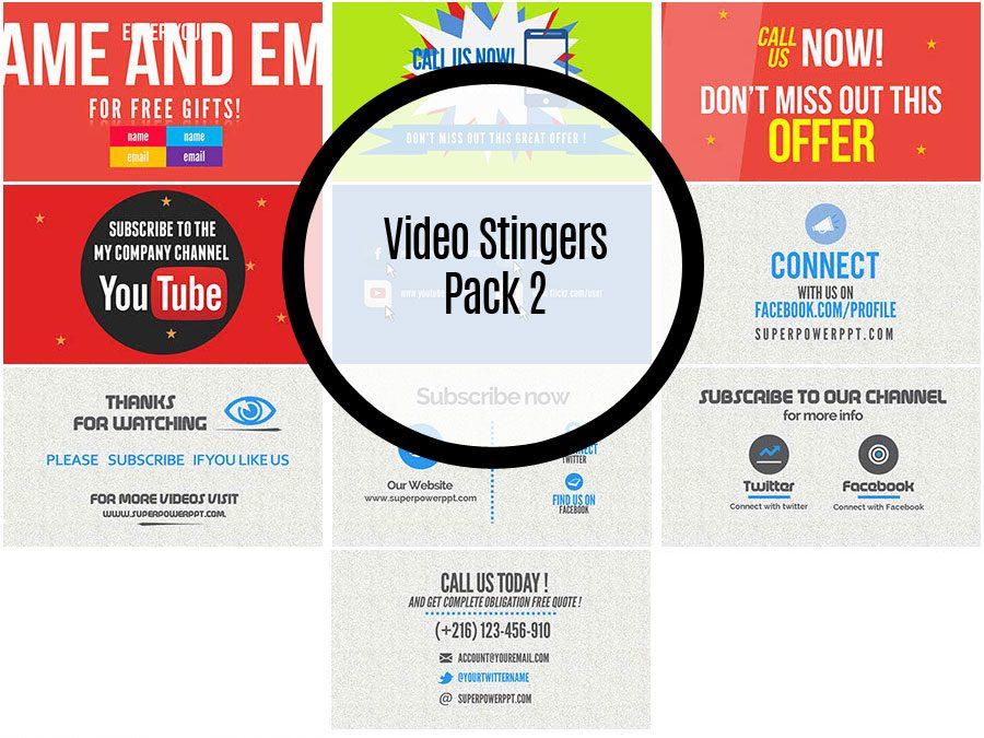 Video Stingers Pack 2