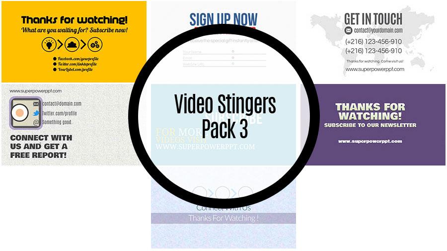 Video Stingers Pack 3