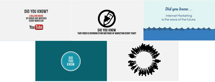 Did You Know Swipes