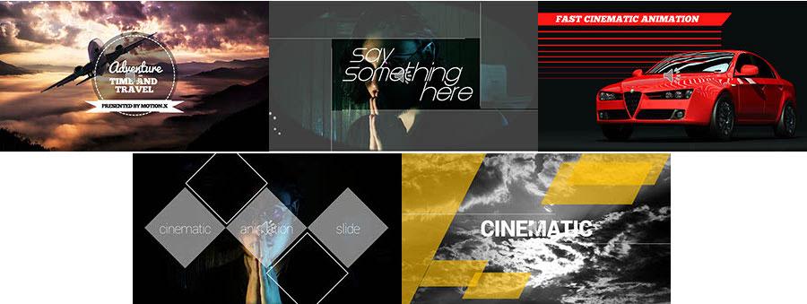Cinematic Animation Slides