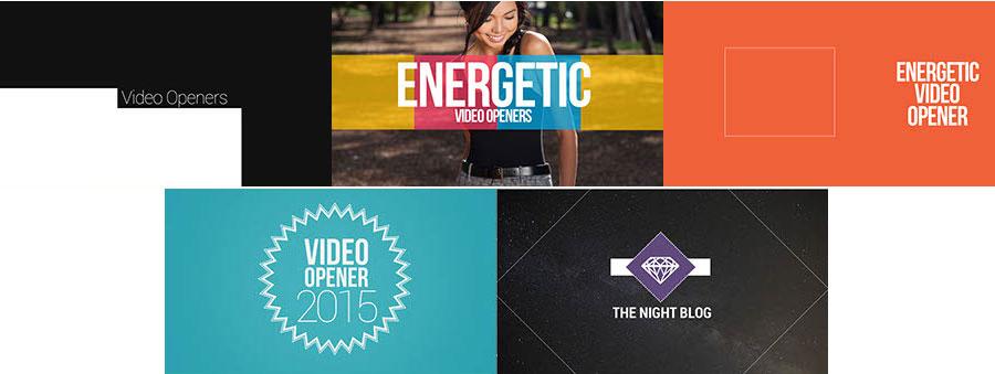 Energetic Video Openers