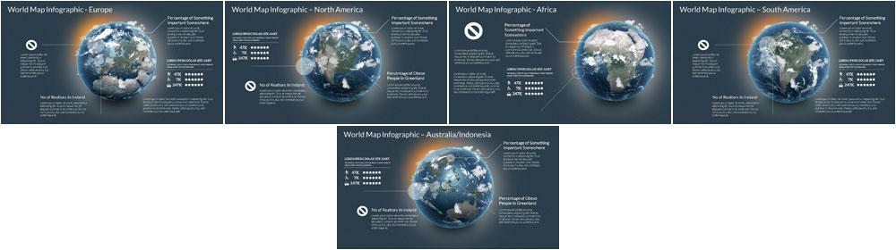 Worldwide Infographic Template