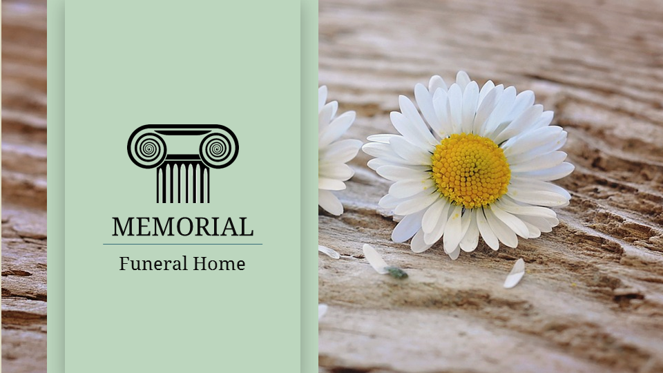 funeral home | superpowerppt, Presentation templates