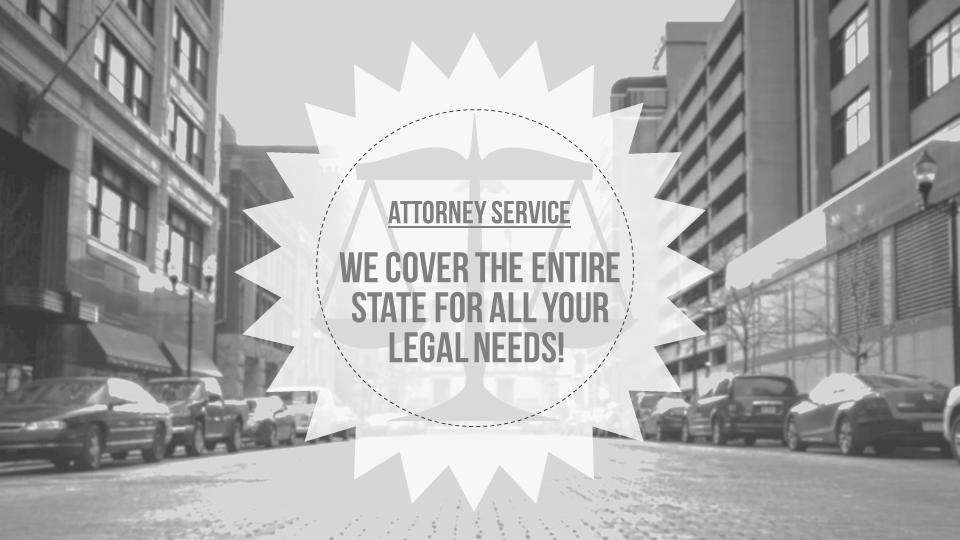 Niche Slides Set – Attorney Related