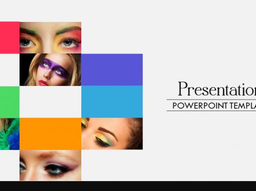 Mixture Of Colors Presentation Template