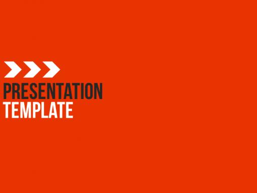 Modern Red Presentation Template