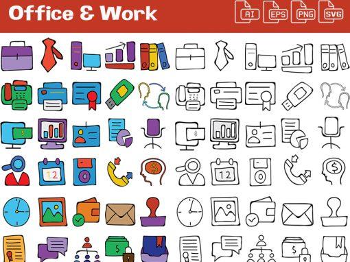 Office & Work Graphics Set