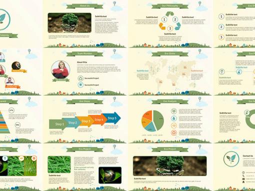 Eco Company Multipurose Template