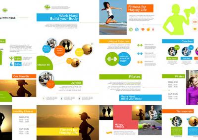 Fitness Multipurpose Template