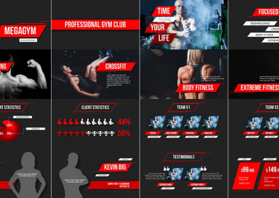 Gym Multipurpose Template