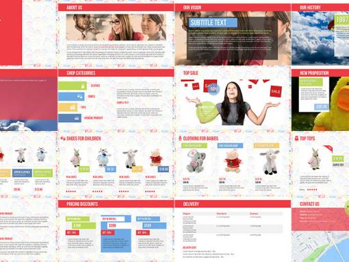 Kids Shop Multipurpose Template