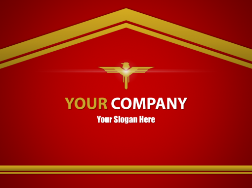 Red Slides Video Template