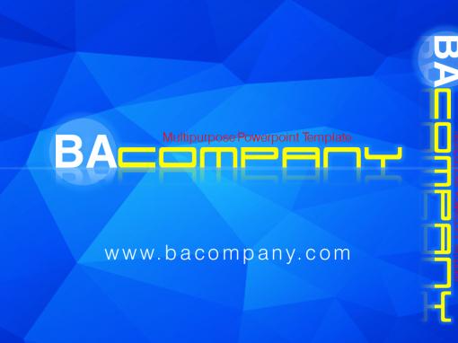 BA Company Video Template