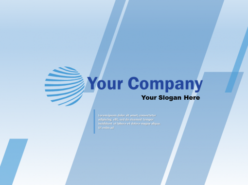 General Blue Business Video Template